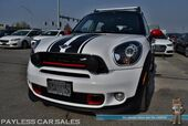 2015 MINI Cooper Countryman John Cooper Works / All4 AWD / 6-Spd Manual / Heated Leather Seats / Navigation / Panoramic Sunroof / Harman Kardon Speakers / Rally Lights / Bluetooth / 31 MPG / 1-Owner