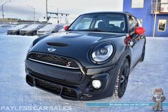 2015_MINI_Cooper Hardtop_S / Automatic / Sport Pkg / John Cooper Works Pkg / Heated Leather Seats / Navigation / Dual Panel Sunroof / Harman Kardon Speakers / Bluetooth / Keyless Entry & Start / Blizzak Tires / Low Miles_ Anchorage AK