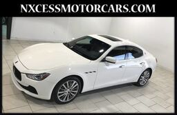 Maserati Ghibli 1 OWNER ONLY 26K MILES CLEAN CARFAX 2015