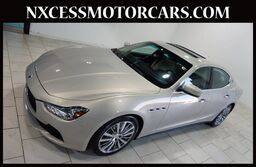 Maserati Ghibli PREMIUM PKG HEATED SEATS NAVIGATION 1-OWNER. 2015