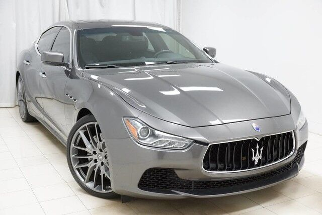 2015 Maserati Ghibli S Q4 AWD Navigation Backup Camera Sunroof 1 Owner Avenel NJ