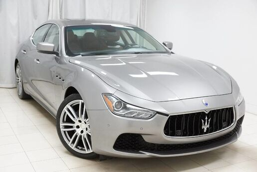 2015 Maserati Ghibli S Q4 AWD Navigation Sunroof Backup Camera 1 Owner Avenel NJ