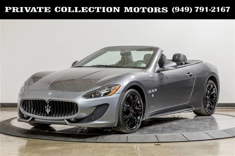 Is 680 A Good Credit Score >> 2015 Maserati GranTurismo Convertible Sport 1 Owner Clean ...