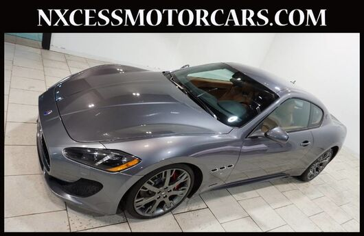 2015 Maserati GranTurismo Sport JUST 19K MILES 1-OWNER CLEAN CARFAX. Houston TX