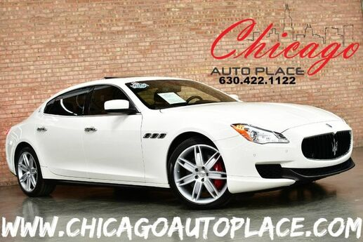 2015 Maserati Quattroporte S Q4 - 3.0L TWIN TURBO V6 ENGINE NAVIGATION BACKUP CAMERA SADDLE BROWN LEATHER HEATED SEATS SUNROOF Bensenville IL