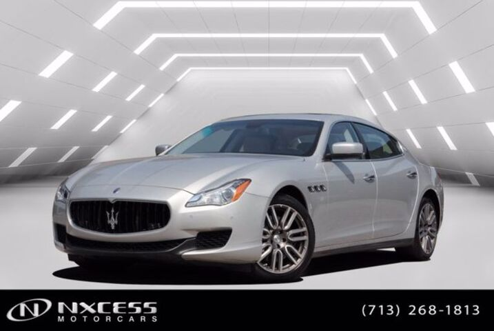 2015 Maserati Quattroporte S Q4 Leather Roof AWD Clean Carfax Low Miles Extra Clean ! Houston TX