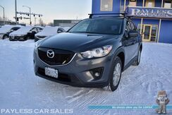 2015_Mazda_CX-5_Touring / AWD / Power Driver's Seat / Blind Spot Alert / Bluetooth / Back Up Camera / Keyless Entry & Start / Yakima Luggage Rack / Tow Pkg / Block Heater / 30 MPG_ Anchorage AK