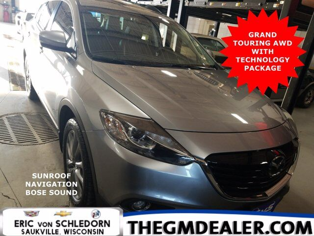 2015 Mazda CX-9 Grand Touring AWD TechnologyPkg w/Sunroof Nav Bose HtdMemLthr RearCamera Milwaukee WI