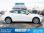 2015 Mazda Mazda3 GT, Heads Up Display, Sunroof, Heated Leather, Navigation, Bose Sound System, Bluetooth