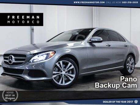2015_Mercedes-Benz_C 300_4MATIC Pano Backup Cam Htd Seats_ Portland OR