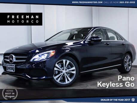 2015_Mercedes-Benz_C 300_4MATIC Pano Keyless Go Htd Seats_ Portland OR