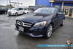 2015_Mercedes-Benz_C 300_4Matic AWD / Heated Leather Seats / Navigation / Panoramic Sunroof / Burmester Speakers / Bluetooth / Back Up Camera / Blind Spot Alert / Keyless GO Pkg / 31 MPG_ Anchorage AK