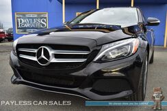 2015_Mercedes-Benz_C 300_4Matic AWD / Sport Package / 2.0L Turbocharged / Power & Heated Leather Seats / Navigation / Panoramic Sunroof / Burmester Speakers / Back-Up Camera / Bluetooth / Low Miles / 1-Owner_ Anchorage AK