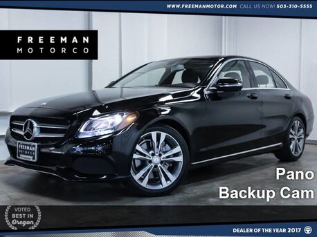 2015_Mercedes-Benz_C 300_Pano Backup Cam Htd Seats 24k Miles_ Portland OR