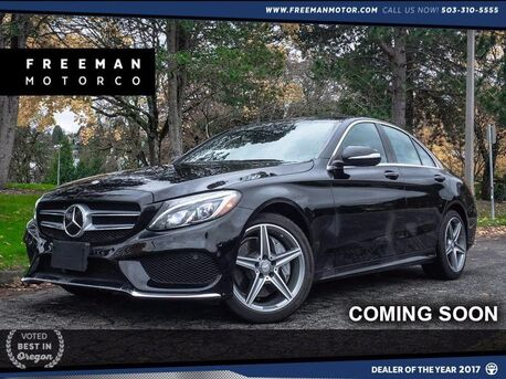 2015_Mercedes-Benz_C 400_4MATIC Distronic Plus Pano Heads-Up_ Portland OR