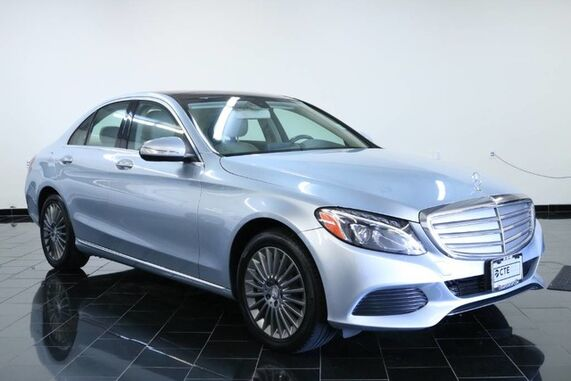 2015_Mercedes-Benz_C-Class_4dr Sdn C 300 Luxury 4MATIC, Navigation System, Panoramic Roof, Heated Front Seats, Multimedia Package,_ Leonia NJ