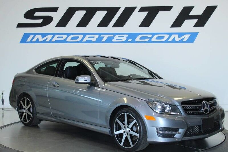 2015 Mercedes-Benz C-Class C 250 COUPE $8K OPTIONS, MULTIMEDIA, AMG WHEELS, PANO