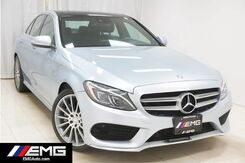 2015_Mercedes-Benz_C-Class_C300 Sport 4MATIC Sports Navigation Backup Camera 1 Owner Sunroof_ Avenel NJ