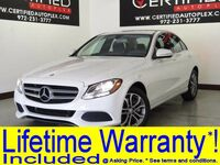 Mercedes-Benz C300 4MATIC COLLISION PREVENTION ASSIST ATTENTION ASSIST NAVIGATION LEATHER SEATS 2015