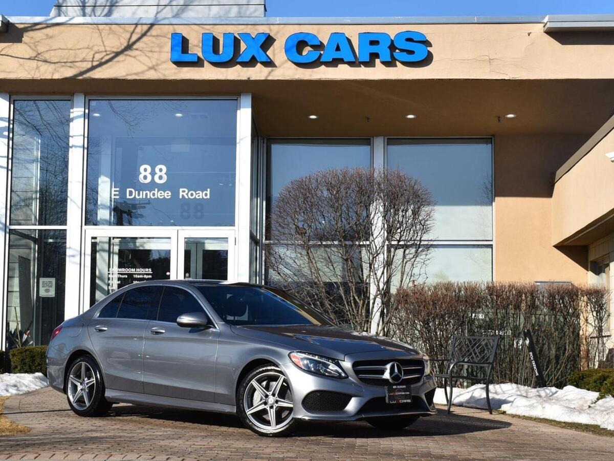 2015_Mercedes-Benz_C300_Sport Panoroof Nav P1 4MATIC MSRP $51,965_ Buffalo Grove IL