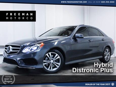 2015_Mercedes-Benz_E 400_Sport Hybrid Distronic Htd/Cooled Seats_ Portland OR
