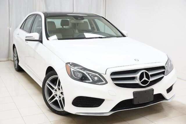 2015 Mercedes-Benz E-Class E350 Sport 4MATIC Sports Navigation Sunroof 1 Owner Avenel NJ