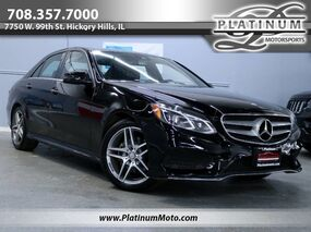 Mercedes-Benz E400 4Matic Sport 1 Owner Sport Pano Nav Back Up Camera Loaded 2015
