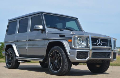 2015_Mercedes-Benz_G-Class_G 63 AMG_ Fort Worth TX