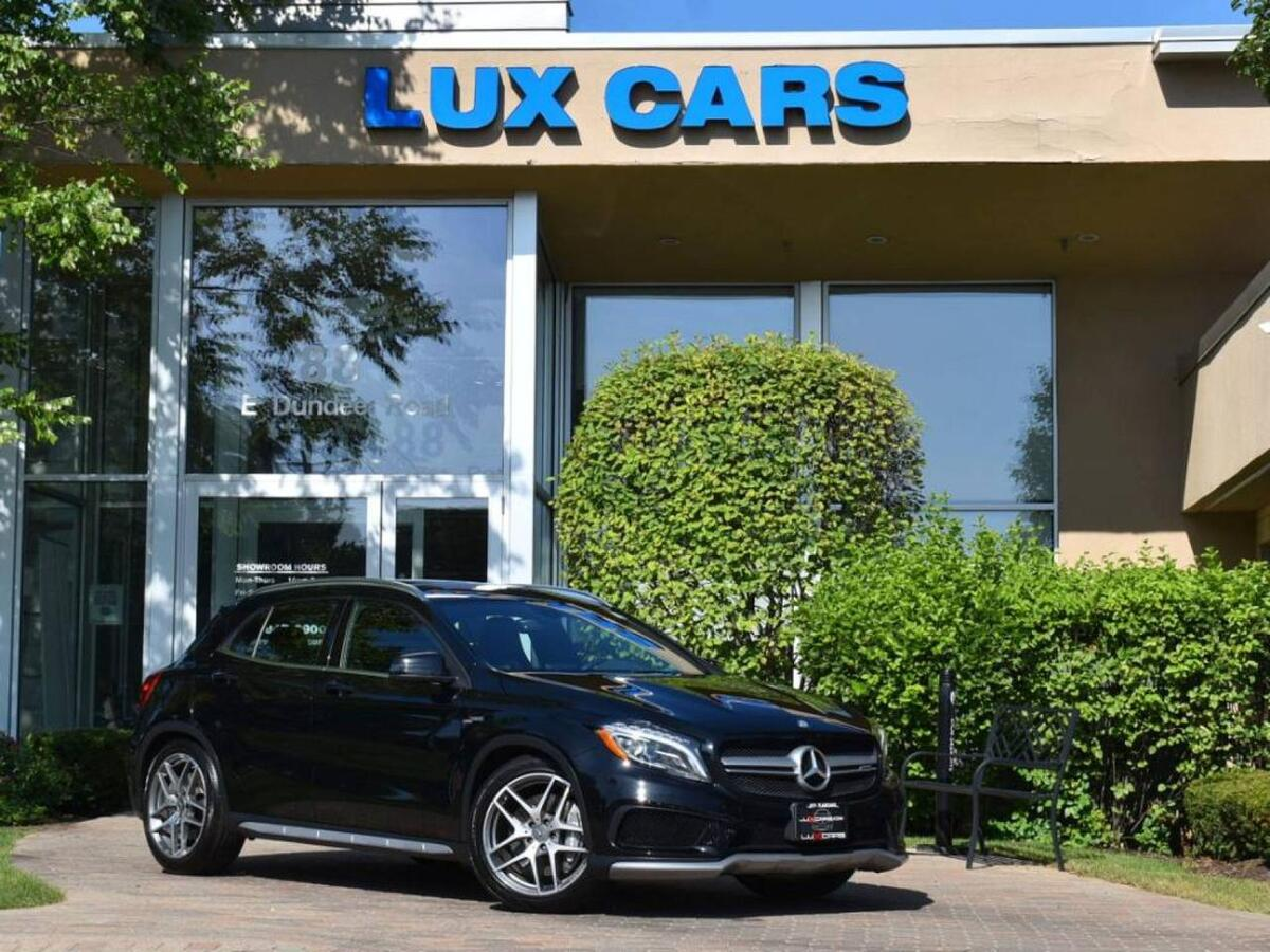 2015_Mercedes-Benz_GLA45_AMG Panoroof Nav 4MATIC MSRP $62,955_ Buffalo Grove IL