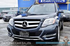 2015_Mercedes-Benz_GLK 350_4MATIC AWD / Power & Heated Leather Seats / Navigation / Dual Sunroof / Blind Spot Assist / Bluetooth / Back-Up Camera / Tow Pkg / 25 MPG_ Anchorage AK