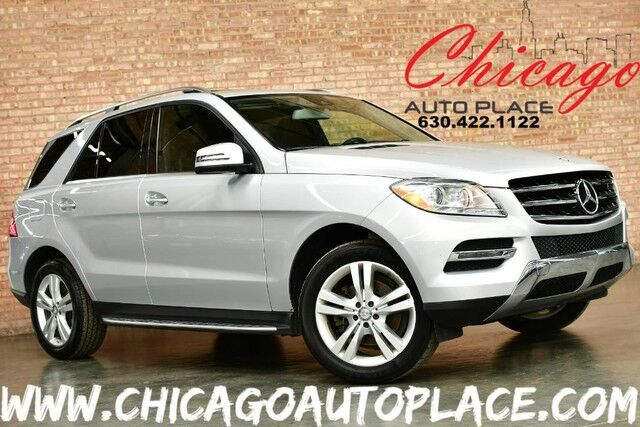 2015 Mercedes-Benz M-Class ML 350 - 3.5L V6 ENGINE 4MATIC NAVIGATON BACKUP CAMERA BLACK LEATHER HEATED SEATS SUNROOF POWER LIFTGATE Bensenville IL