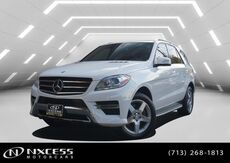 2015_Mercedes-Benz_M-Class_ML 400_ Houston TX