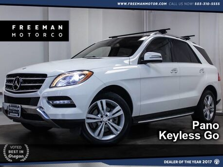 2015_Mercedes-Benz_ML 350_4MATIC Pano Backup Cam 25K Miles_ Portland OR