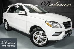 Mercedes-Benz ML 350 4MATIC, Premium Package, Navigation System, Rear-View Camera, Heated Seats, Power Sunroof, 2015