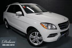 Mercedes-Benz ML 350 4MATIC, Premium Package, Navigation System, Rear-View Camera, Media Interface, Bluetooth Streaming Audio, Heated Leather Seats, Power Sunroof, 19-Inch Alloy Wheels, 2015