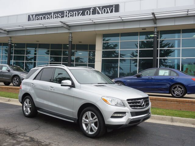 2015 Mercedes Benz ML 350 ML 350 4MATIC® In Novi MI | Mercedes Benz Of Novi