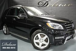 Mercedes-Benz ML 400 4MATIC, Navigation System, Rear-View Camera, Harman Kardon Premium Sound, Auburn Brown Leather Interior, Ventilated Leather Seats, Panorama Sunroof, Illuminated Running Boards, 19-Inch AMG Alloy Wheels, 2015