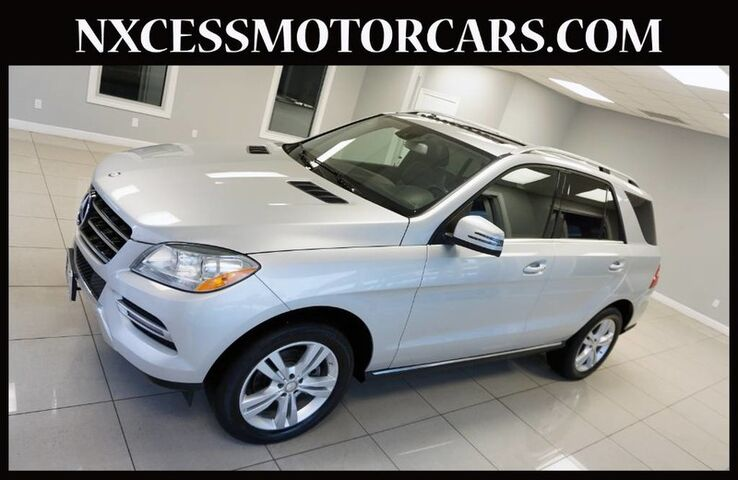 2015 Mercedes Benz ML350 4MATIC Navi, Roof Appearance Package , Rear View.