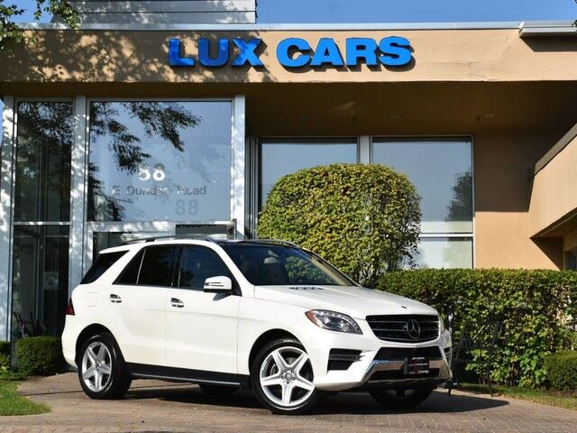 2015_Mercedes-Benz_ML400_Panorama Nav 4MATIC MSRP $73,715_ Buffalo Grove IL