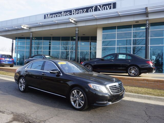 2015 mercedes benz s 550 4matic in novi mi mercedes for Mercedes benz novi michigan