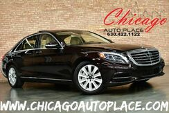 2015_Mercedes-Benz_S-Class_S 550 4MATIC - 4.7L BITURBO ENGINE ALL WHEEL DRIVE NAVIGATION TOP VIEW CAMERAS PANO ROOF KEYLESS GO BEIGE LEATHER HEATED/COOLED SEATS MASSAGE SEATS_ Bensenville IL
