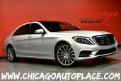 2015 Mercedes-Benz S-Class S 550 4MATIC - 4.7L BITURBO V8 ENGINE 1 OWNER ALL WHEEL DRIVE NAVIGATION BACKUP CAMERA BLACK LEATHER HEATED/VENTILATED SEATS PANO ROOF BURMESTER AUDIO XENONS