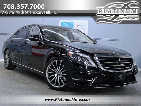 2015 Mercedes-Benz S-Class S 550 4Matic Sport 2 Owner Pano Nav Rear Entertainment Hickory Hills IL