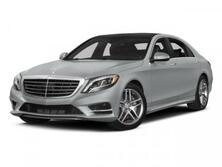 Mercedes-Benz S-Class S 550 Sport Designo Package Rear Power Seats and DVD. 2015
