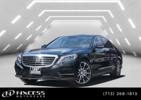 2015 Mercedes-Benz S-Class S 550 Sport Low Miles Extra Clean! Houston TX