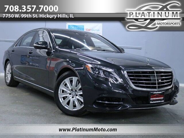 2015 Mercedes-Benz S550 4Matic 2 Owner Nav Pano Loaded Hickory Hills IL