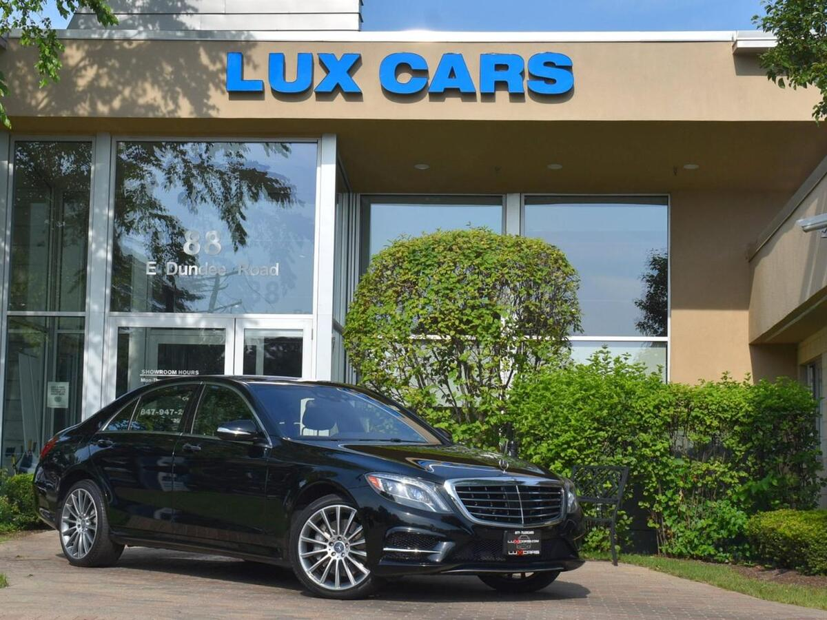 2015_Mercedes-Benz_S550_Panoroof Sport AMG P1 Nav 4MATIC MSRP $114,635_ Buffalo Grove IL