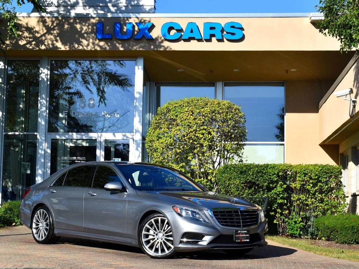 2015_Mercedes-Benz_S550_Sport AMG Panoroof Premium 1 PKG 4MATIC MSRP $119,165_ Buffalo Grove IL