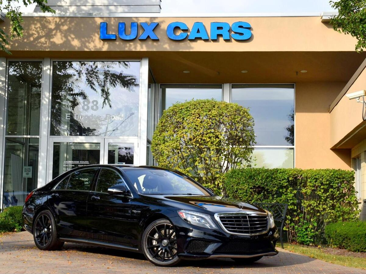 2015_Mercedes-Benz_S63_AMG Panoroof Nav Splitview 4MATIC MSRP $156,985_ Buffalo Grove IL