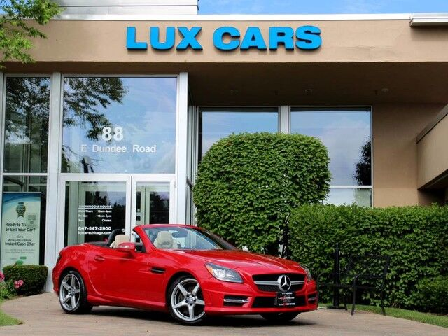 2015_Mercedes-Benz_SLK350_SPORT AMG NAV PANOROOF MSRP $63,390_ Buffalo Grove IL
